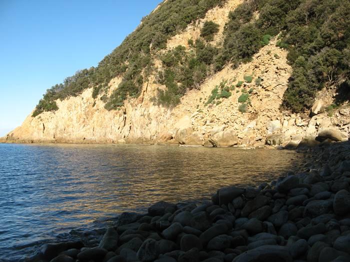 Рипа Барата: правая сторона пляжа