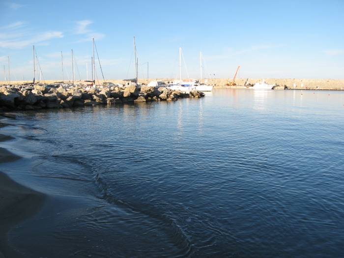 море в районе Марчана Марина на Эльбе