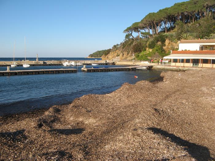 правая часть пляжа Магадзини