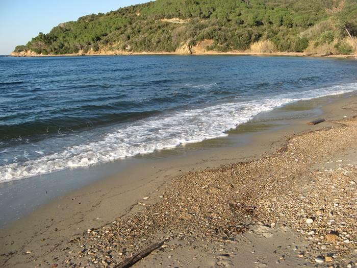 пляж Оттоне - вид на правую часть