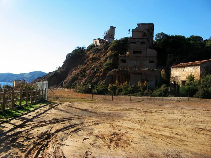 Кала Серегода - старая постройка, шахта