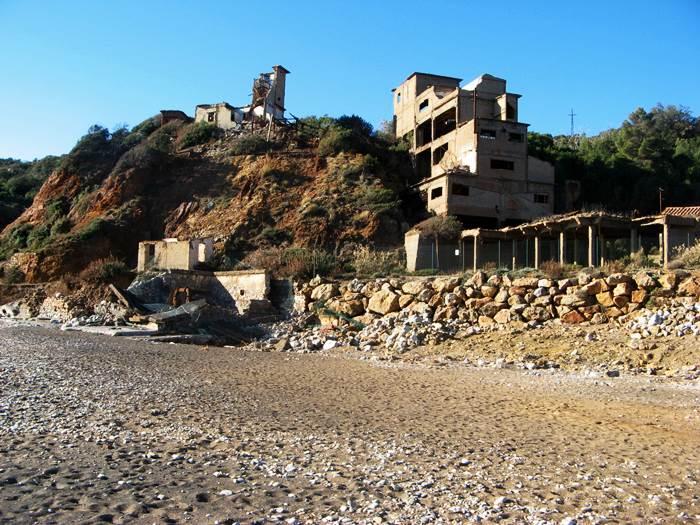 уголок пляжа Кала Серегола