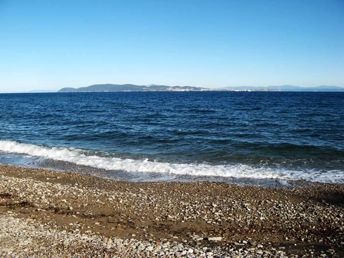 Форначелле пляж на острове Эльба