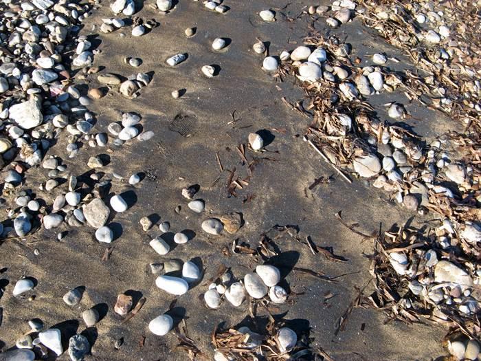 Форначелле - чёрный песок