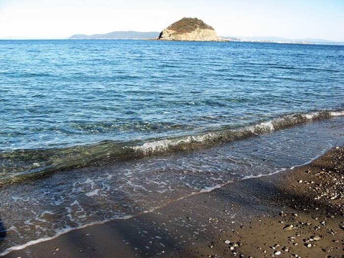 пляж Фругозо: вид на море