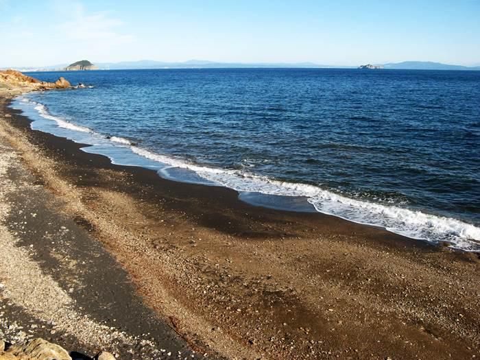 море у пляжа Топинетти
