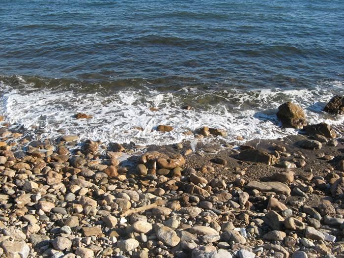 на пляже Рипа Бьянка
