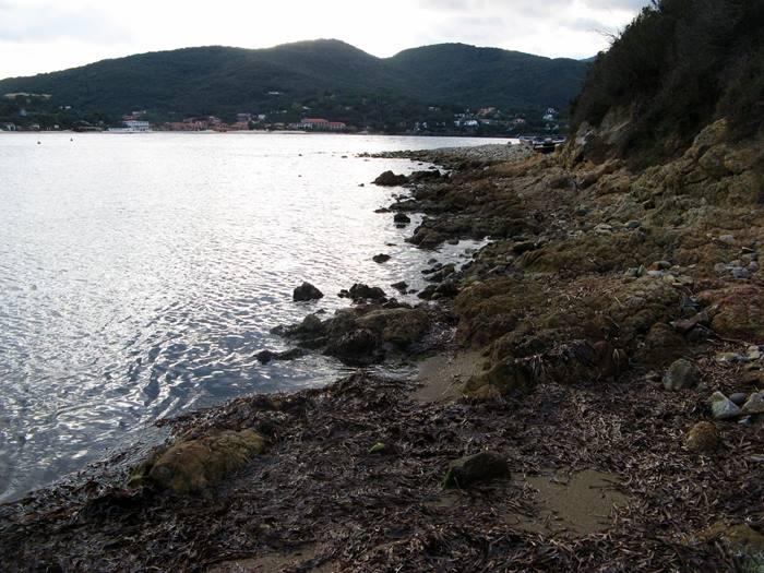 пляж Гвардиола - правая часть