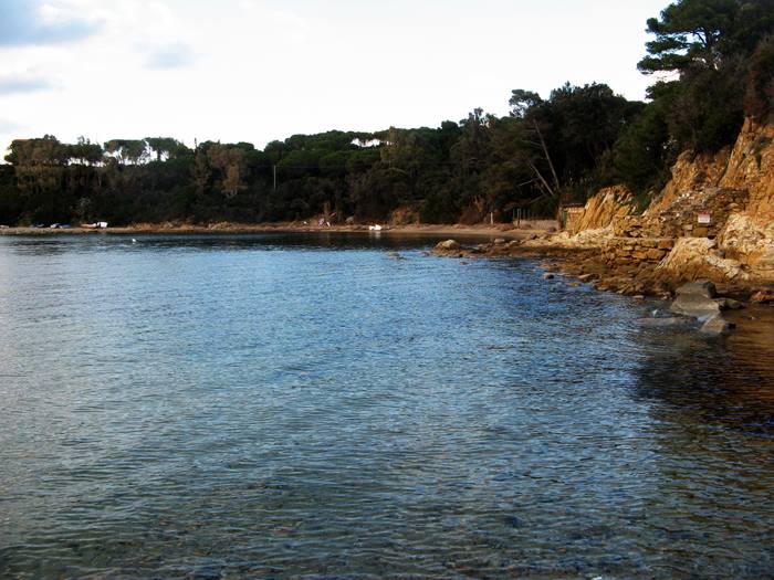 пляж Гвардиола - вид слева