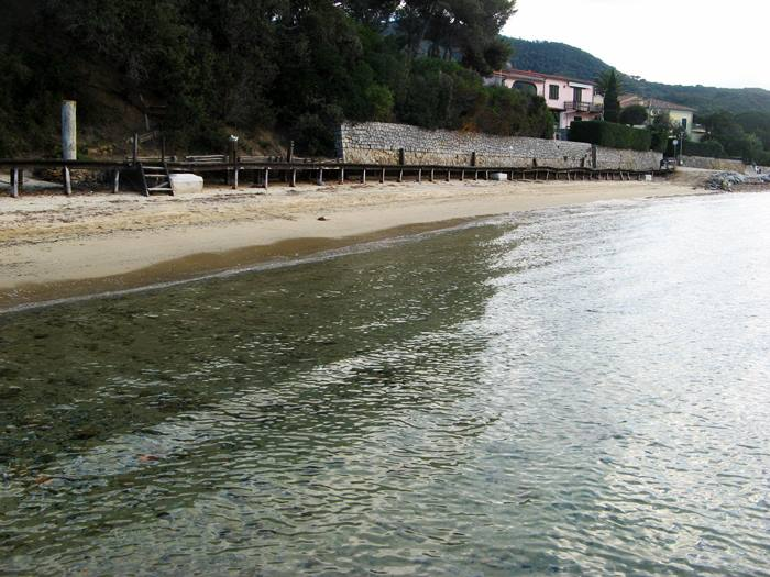 пляж Гвардиола вид на пляж Кампо Аллая