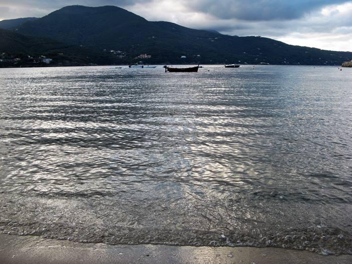 пляж Гвардиола - вид на море