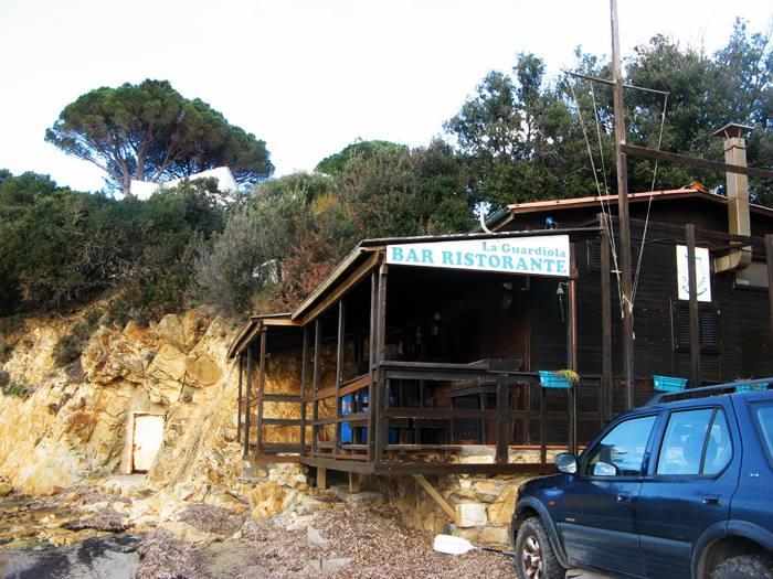 пляж Гвардиола - ресторан