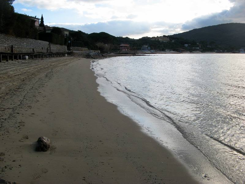 пляж Кампо аль Айя - песок