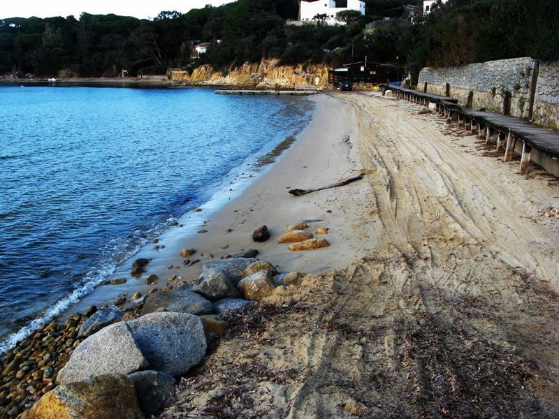 пляж Кампо аль Айя - правая сторона