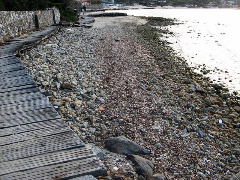пляж Кампо аль Айя - левая часть