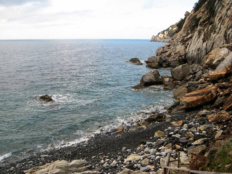 Пляж Полверая - правая сторона