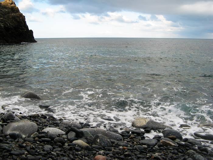 Пляж Полверая - вид на море