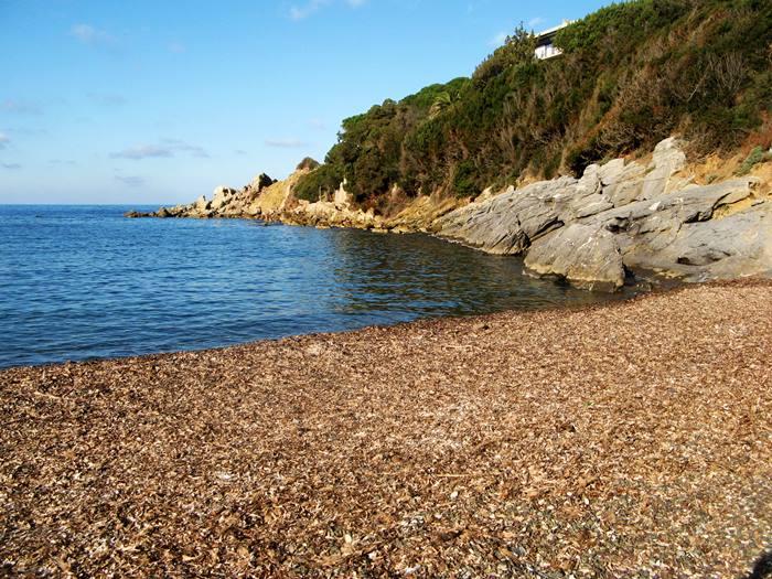 пляж Ниспорто - правая сторона