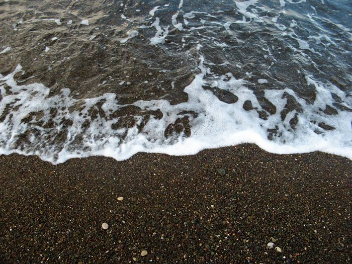 пляж Ниспорто - волна