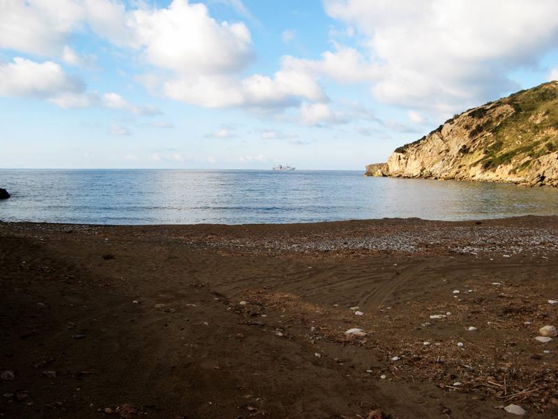 пляж Ниспортино - вид на море