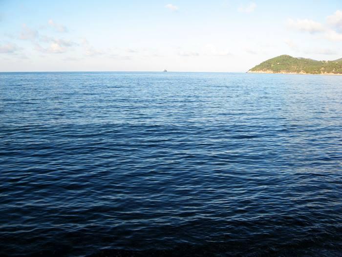 пляж Скиопарелло - море