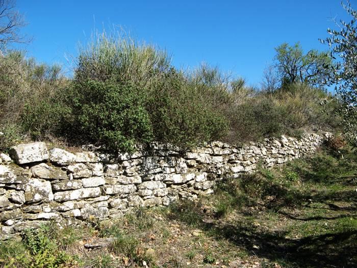 стена сухой кладки