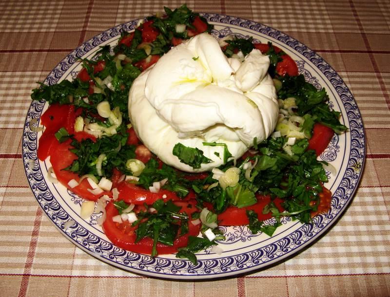 буррата - итальянский сыр