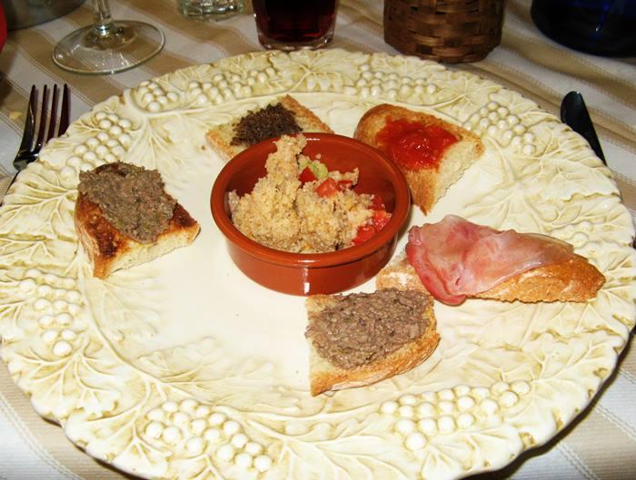 тосканская закуска - антипасто тоскано