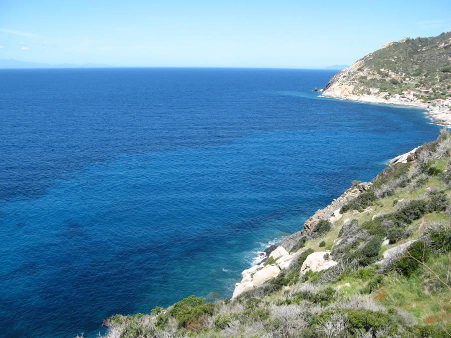морские виды на острове Эльба