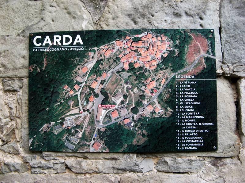 Карда - карта борго