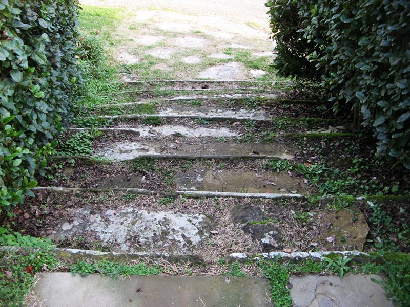 замок гальбино - лестница