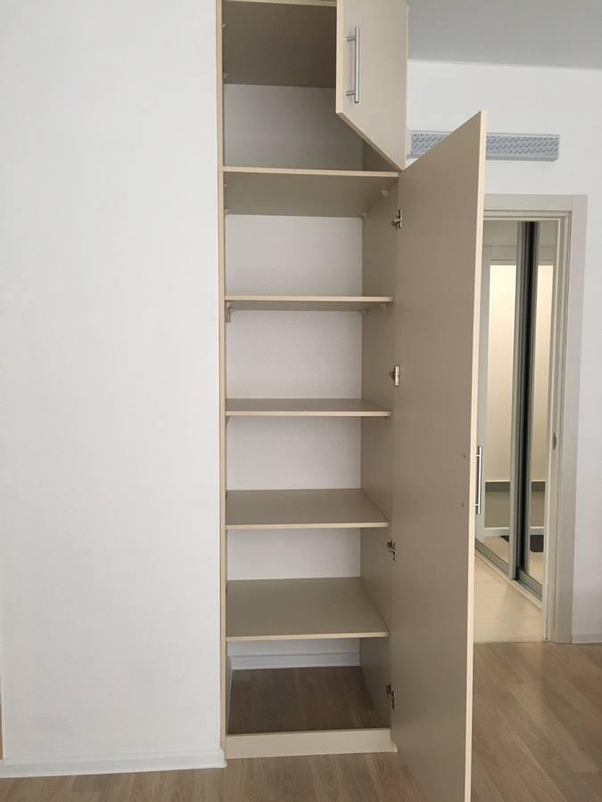 обустройство квартиры-студии - шкаф