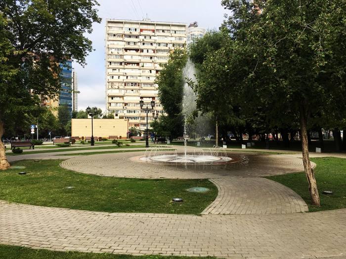 благоустройство в Москве - дорожки