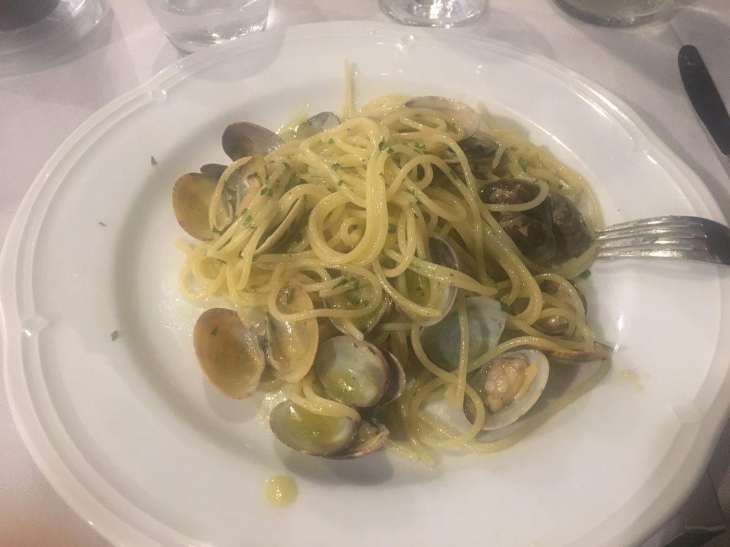 паста с моллюсками
