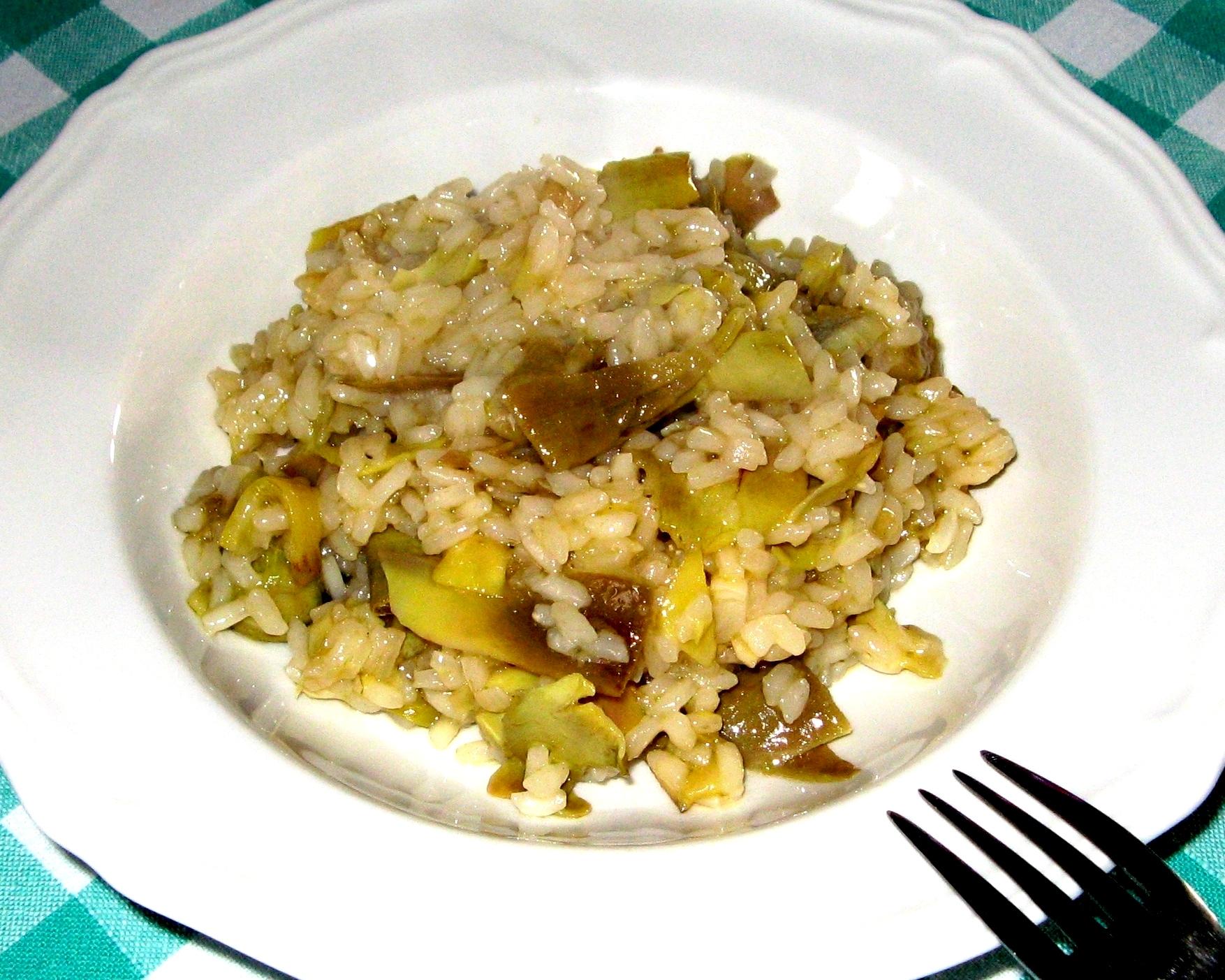 рис и артишоки