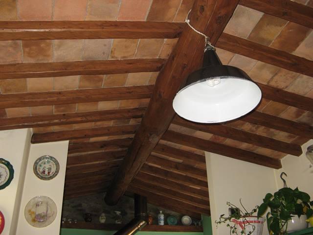 потолок в тосканском стиле