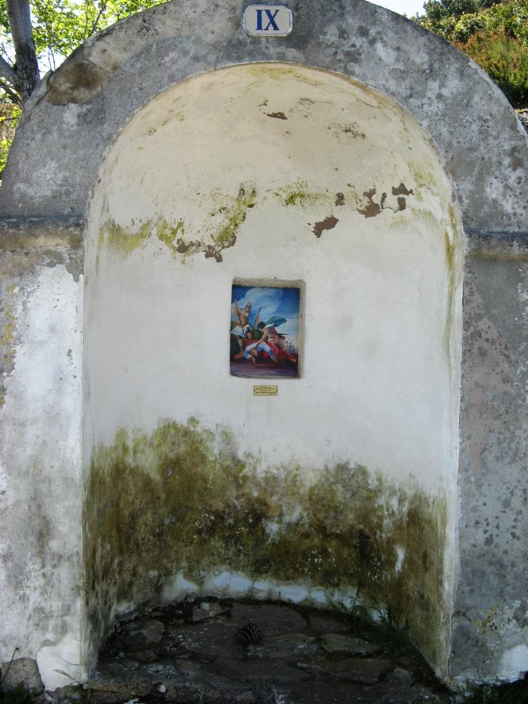 Картина на дороге Христа