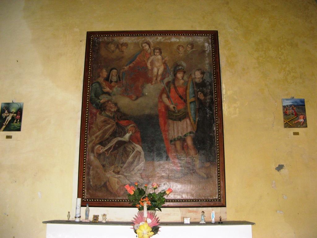 икона в церкви Мадонна дель Монте