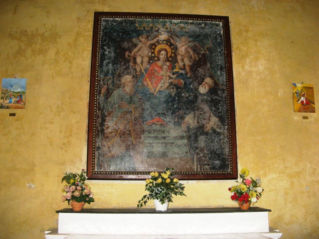 убранство церкви Мадонна дель Монте