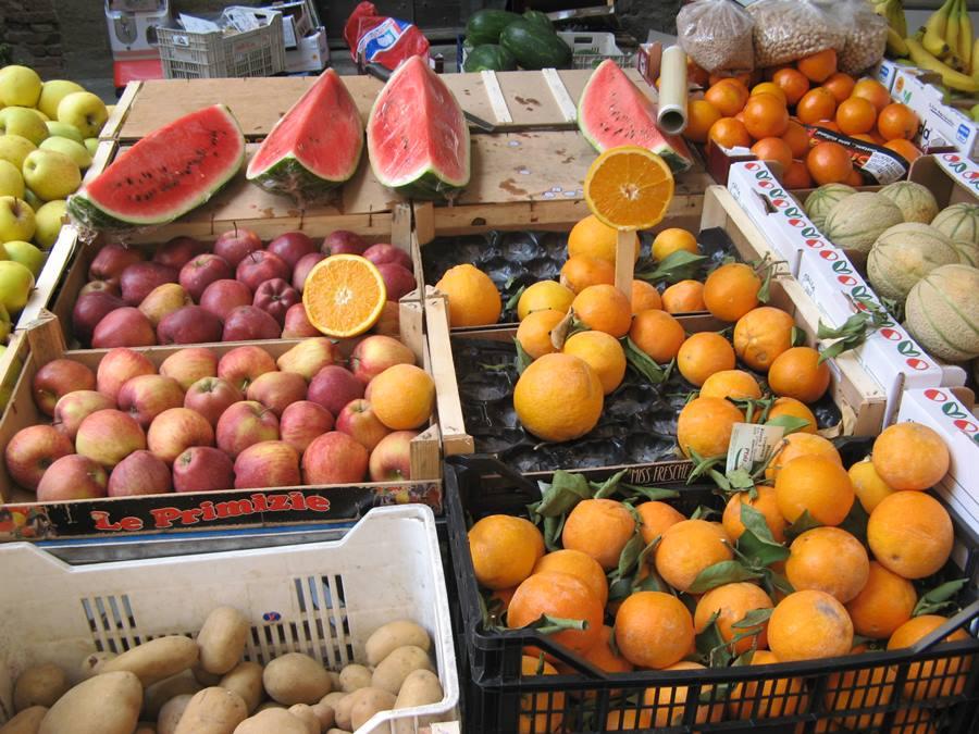 Рынок в Лучиньяно