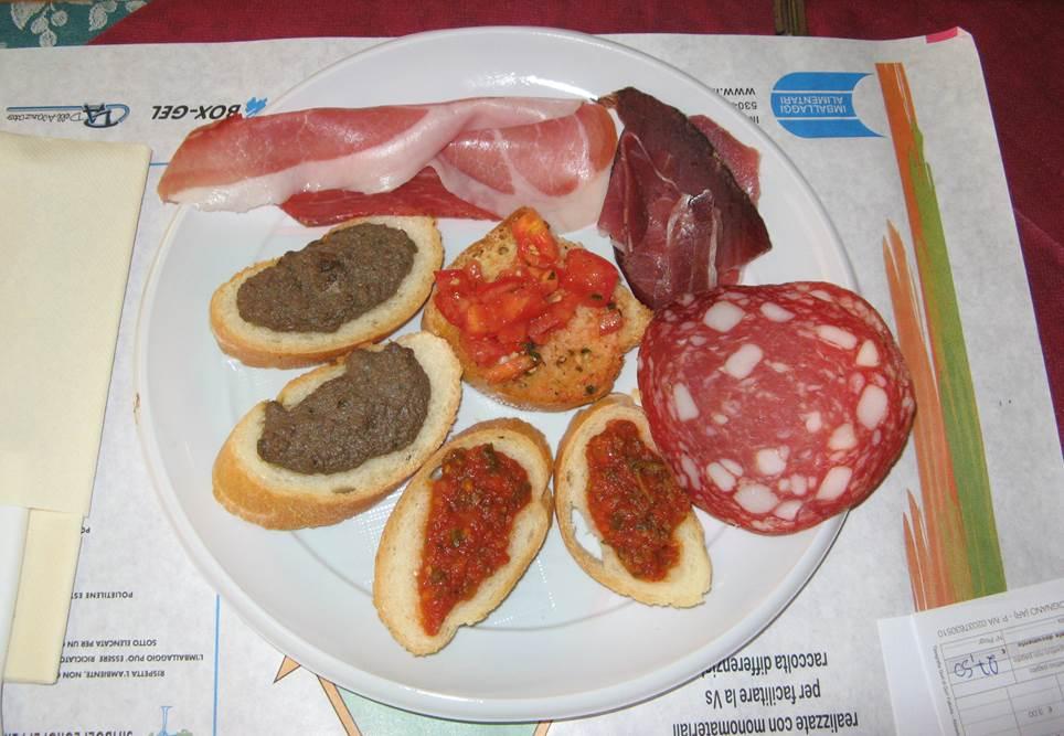 Тосканское антипасто