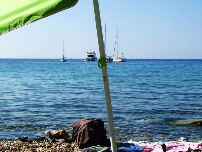 Италия в июне - пляж и море на Эльбе