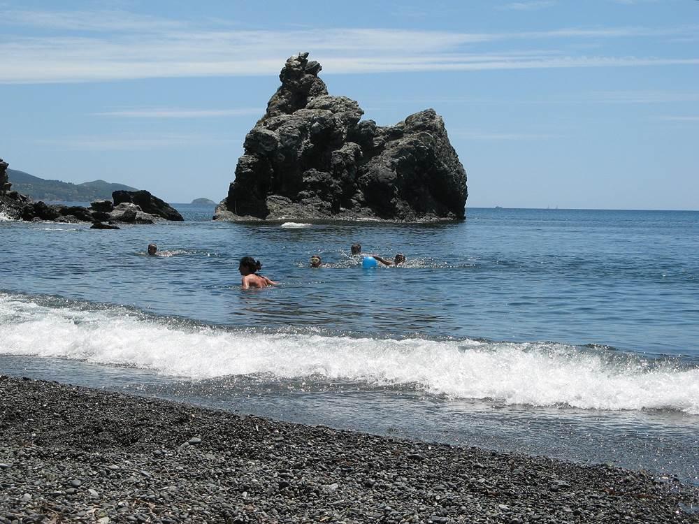август - купание в море