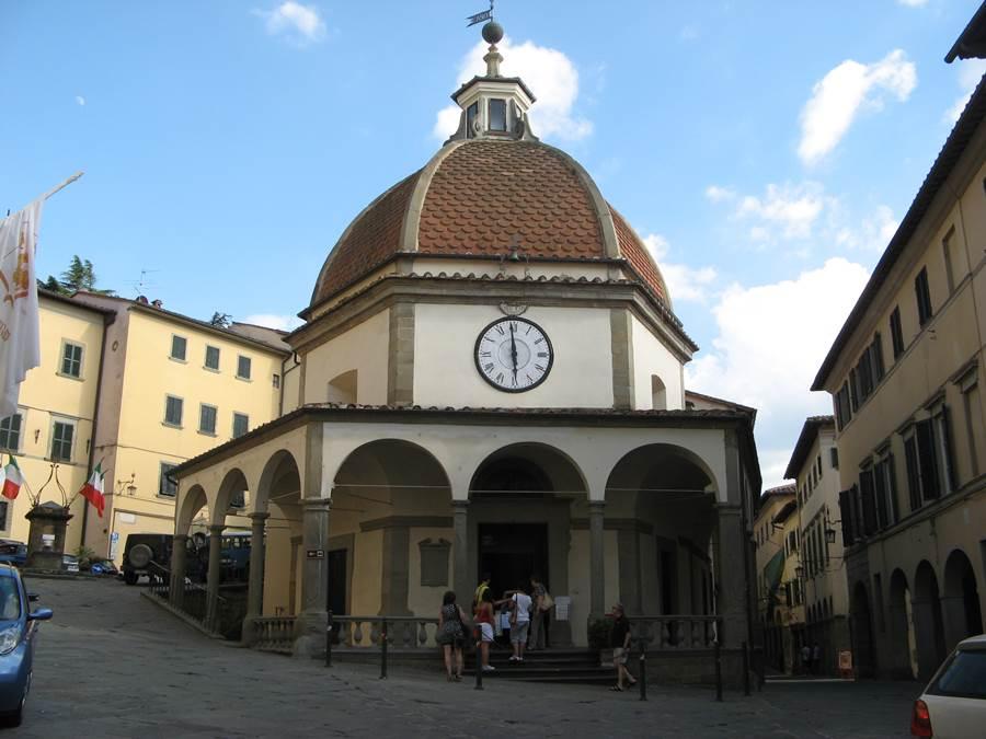 Церковь Мадонны дель Морбо - piazza Amerighi в Поппи