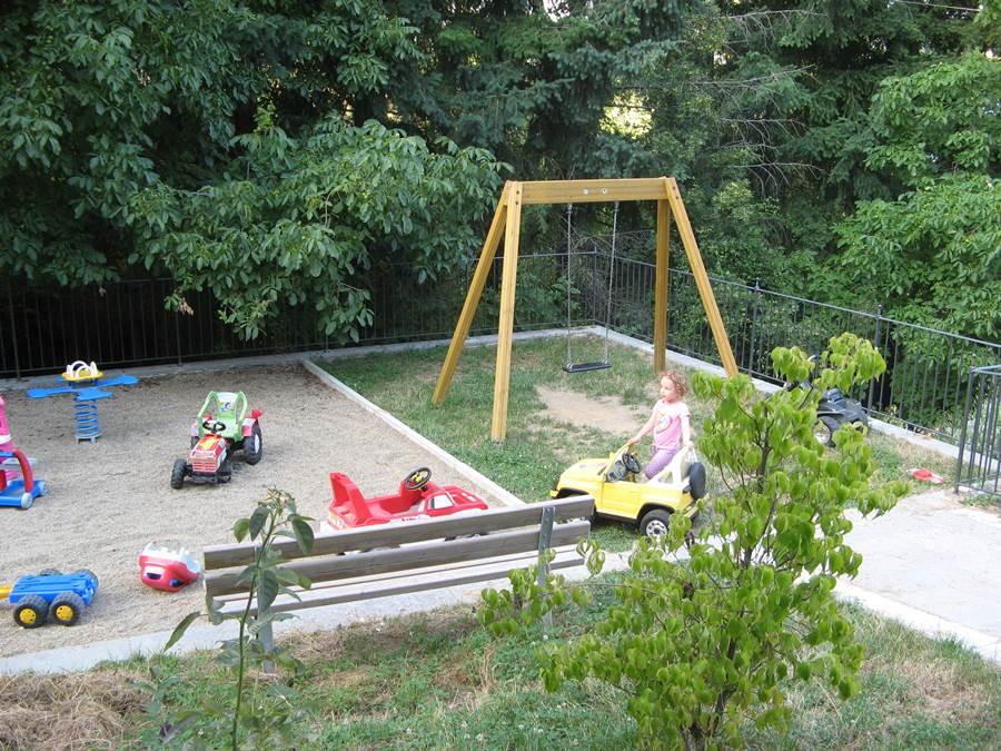 Детская площадка в Квоте