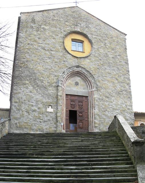 церковь в Кортоне