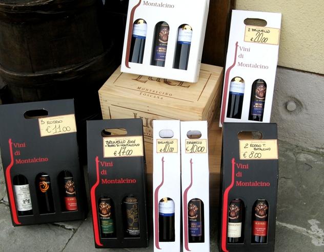 Монтальчино: винные наборы