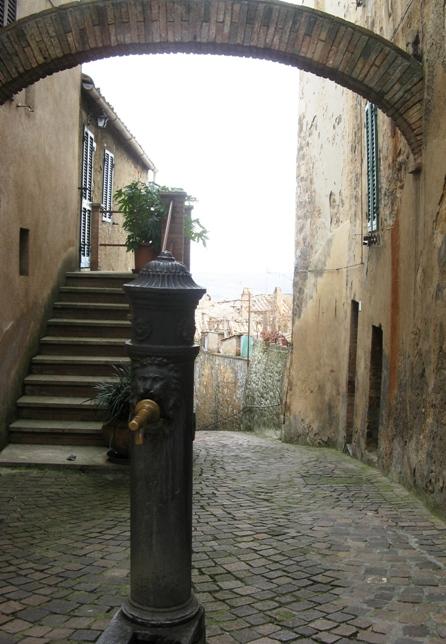 колодец в Монтальчино