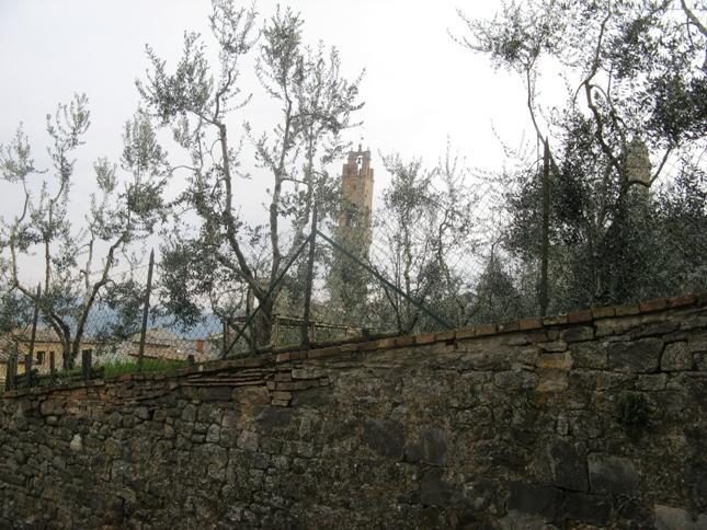 башни в Монтальчино