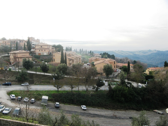 дорога к Монтальчино